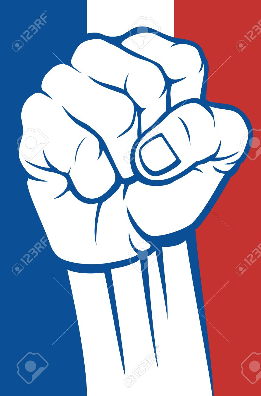 France Fist Royalty Free Cliparts, Vectors, And Stock Illustration.