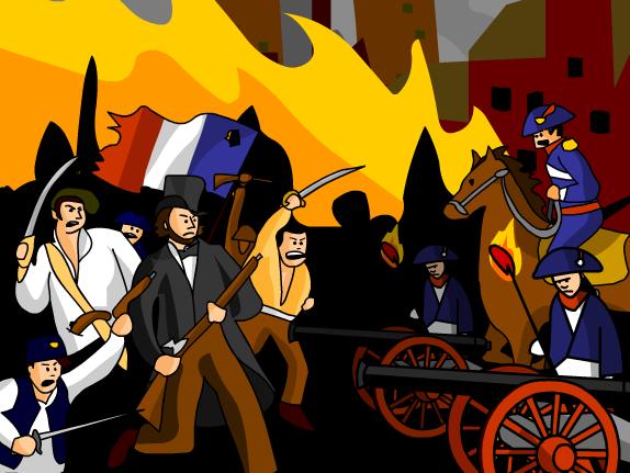 French Revolution Clipart.