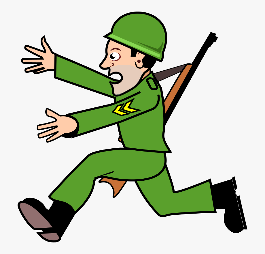 French Soldier Clipart Sad.