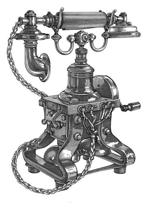 clip art antique phone - photo #7