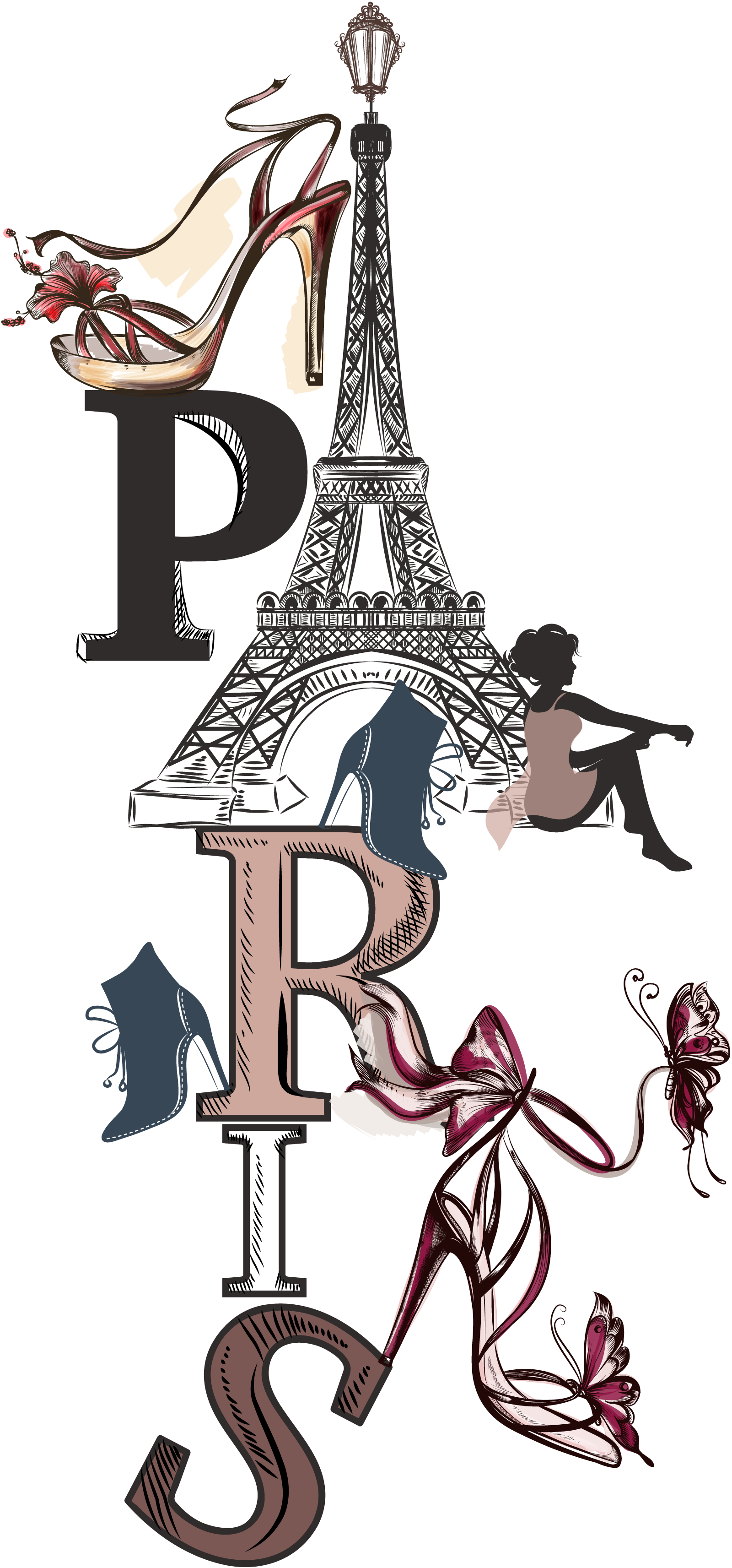 French clipart themed paris, French themed paris Transparent.