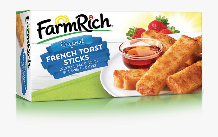 Farm Rich Original French Toast Sticks , Transparent Cartoon.