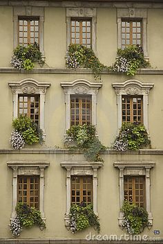 old french windows and doors.
