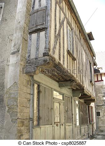 Picture of Medieval french house.