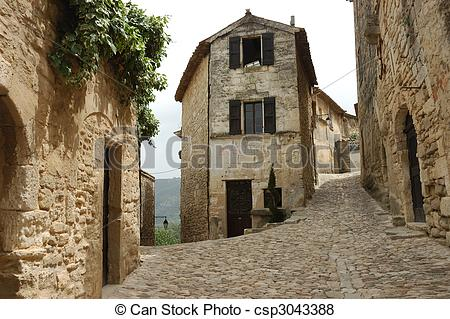 Pictures of Old French Village.