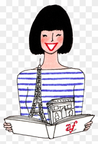 Free PNG French Girl Clipart Clip Art Download.