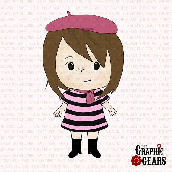 French woman clipart 6 » Clipart Portal.