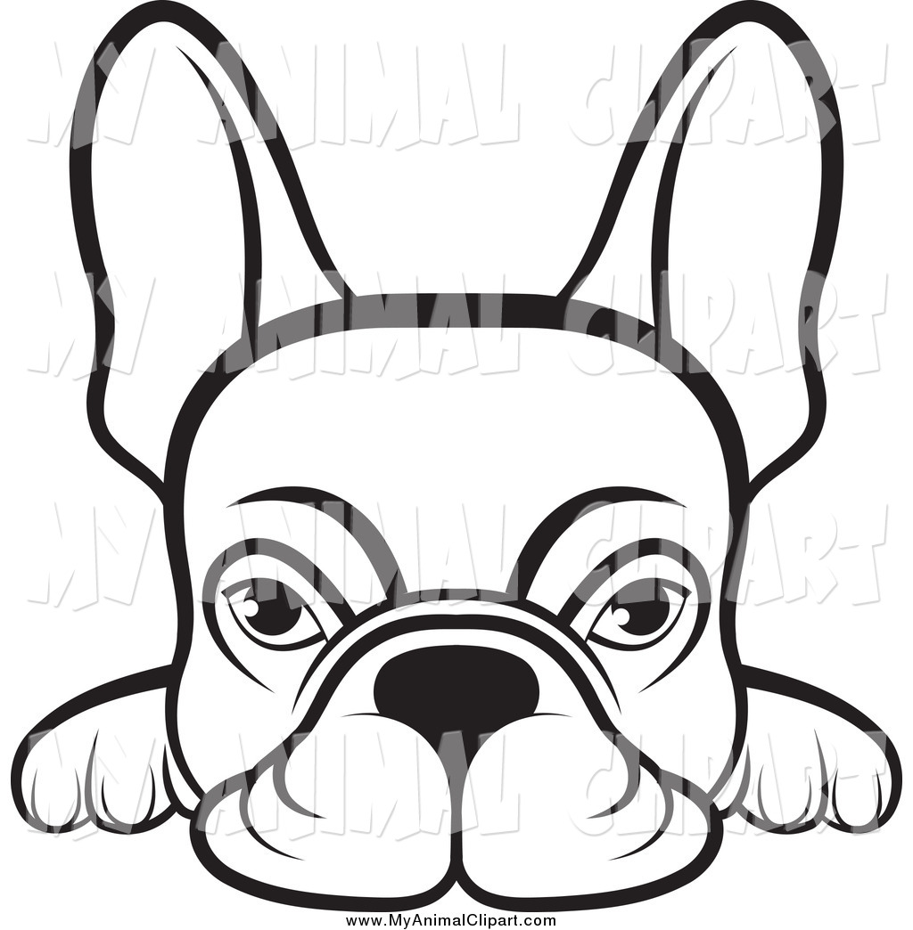 Collection of Frenchie clipart.