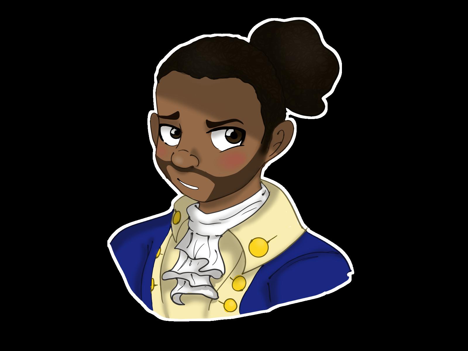 Marquis de Lafayette (a.k.a. the frenchiest fry) #hamilton.