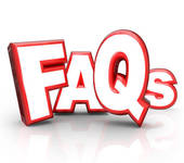 Frequently Asked Questions Stock Illustrations.