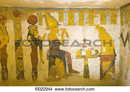 Stock Photo of Egypt, Libyan desert, Bahariya Oasis, Bannentiu.