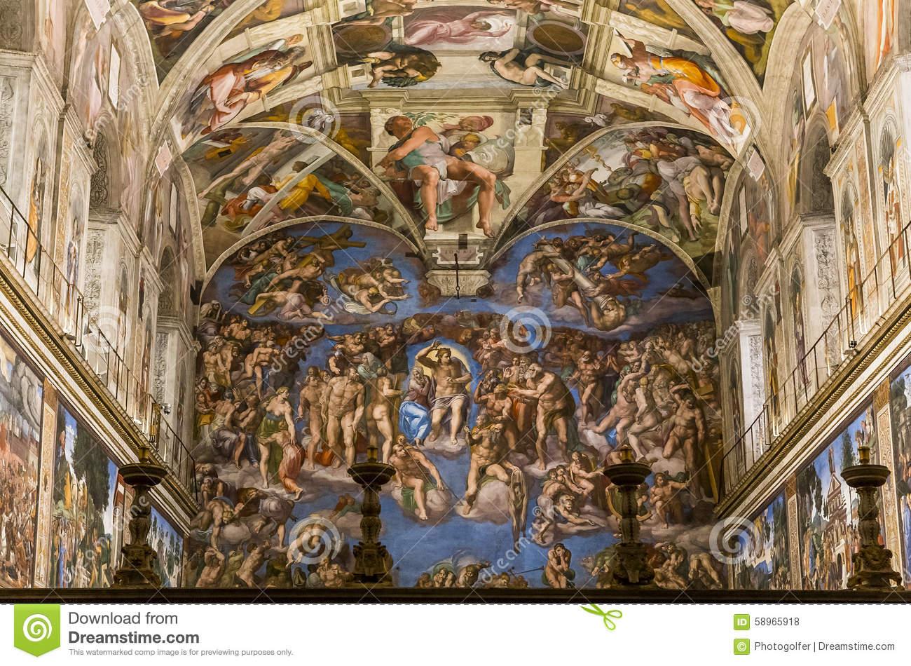 Sistine chapel clipart.