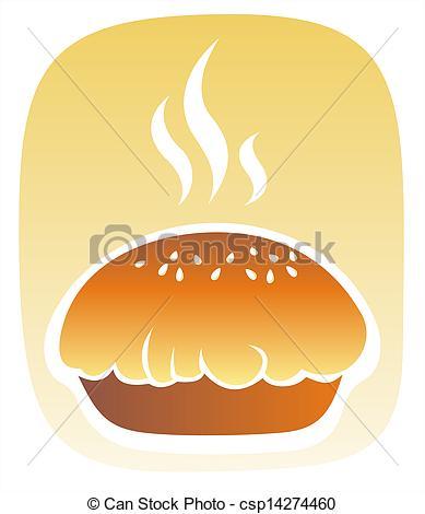 Stock Illustration Of Fresh Baked Bread.