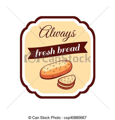 Sticker Fresh Bread.