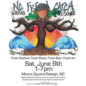 NC Fresh Catch (Fresh Seafood, Fresh Music, Fresh Beer, Fresh Art.