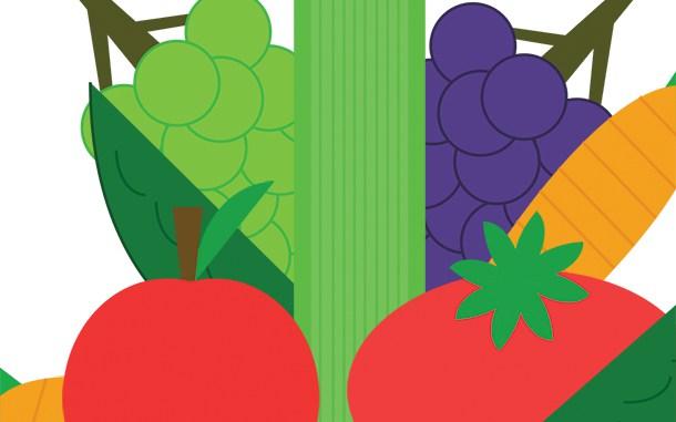 Student access to fresh garden produce.