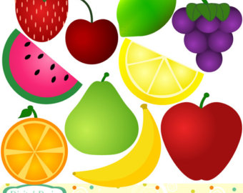 Fresh Fruit Clip Art.