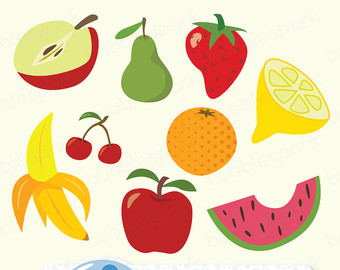 Fresh Fruit Clipart.