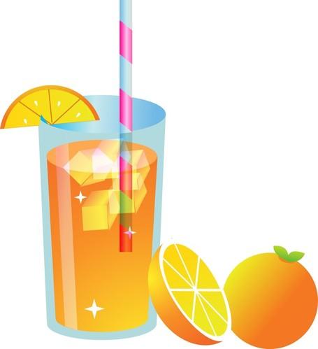 Fresh Orange Juice, Vectors.