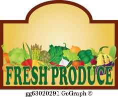 Fresh Produce Clip Art.