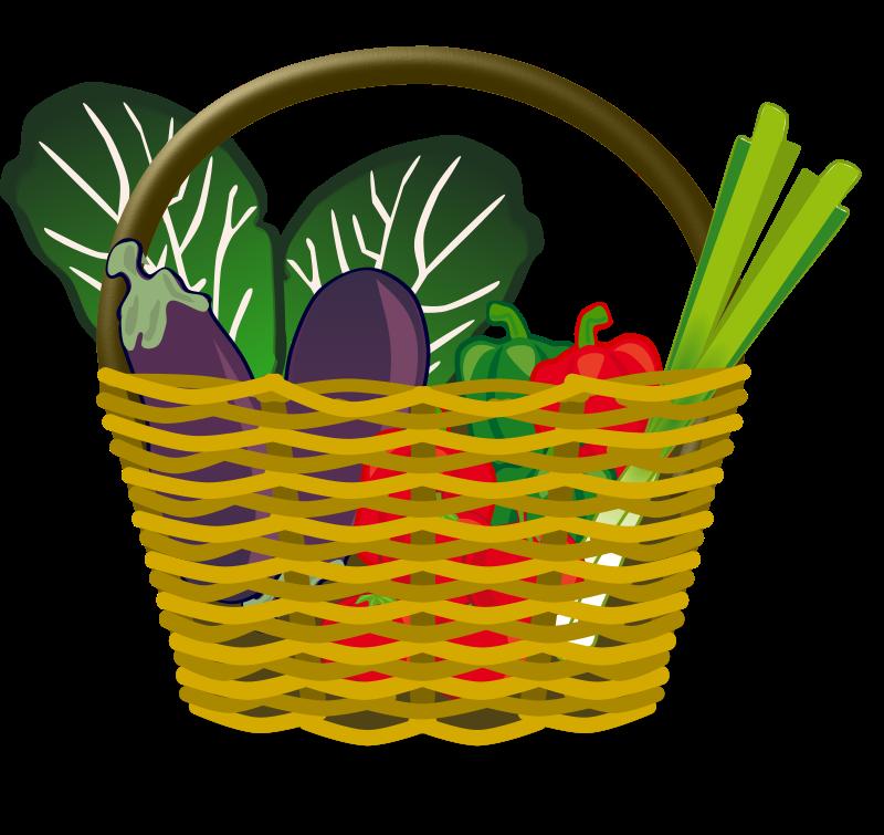 Fresh Vegetables Clip Art.