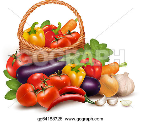 Vegetables Clip Art.
