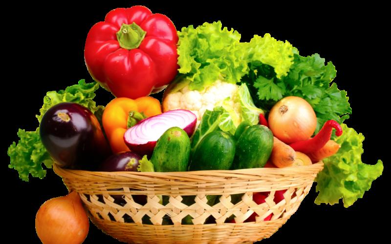 Download Free png Fresh Vegetables In Basket 25.