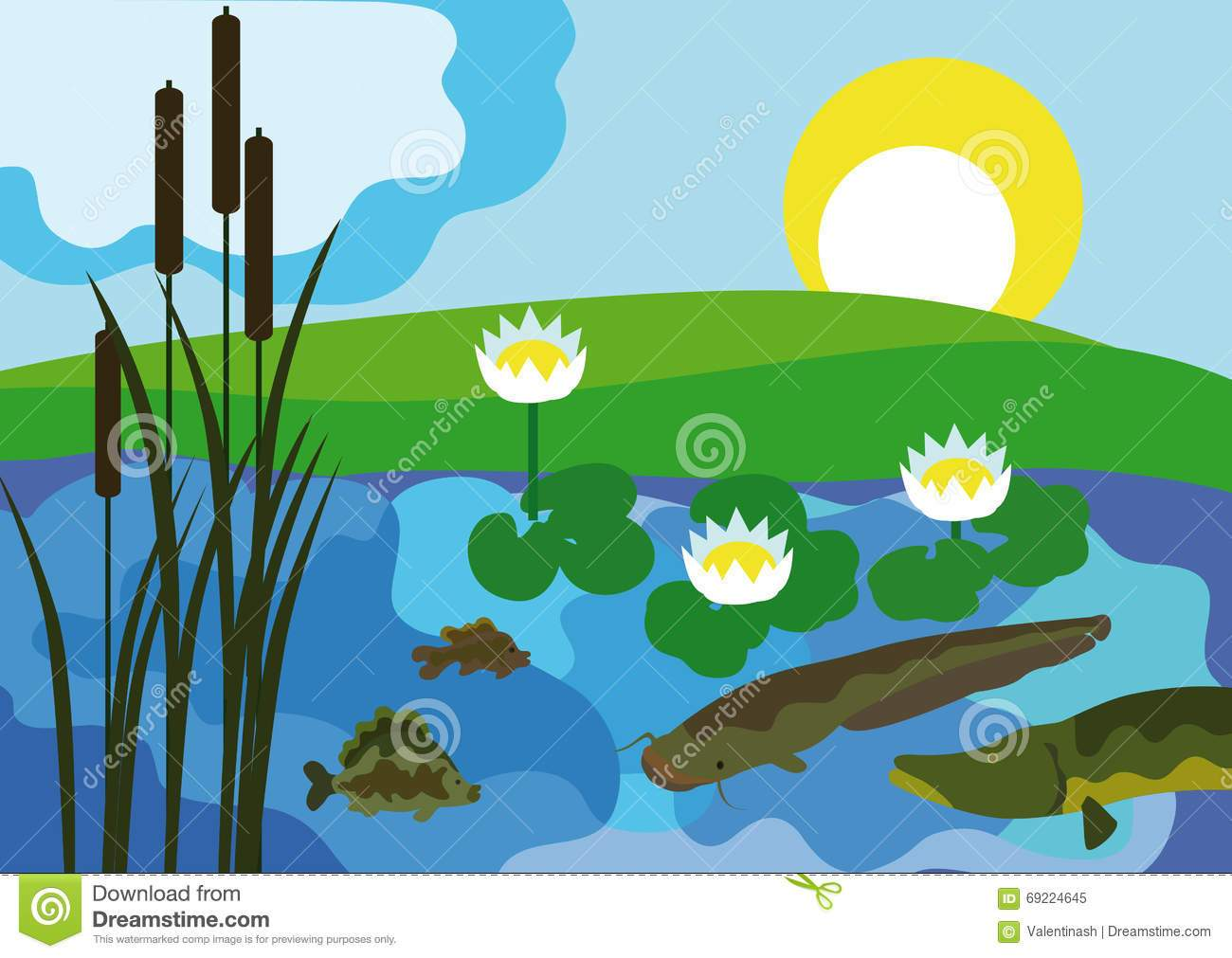 Fresh water clipart 6 » Clipart Portal.