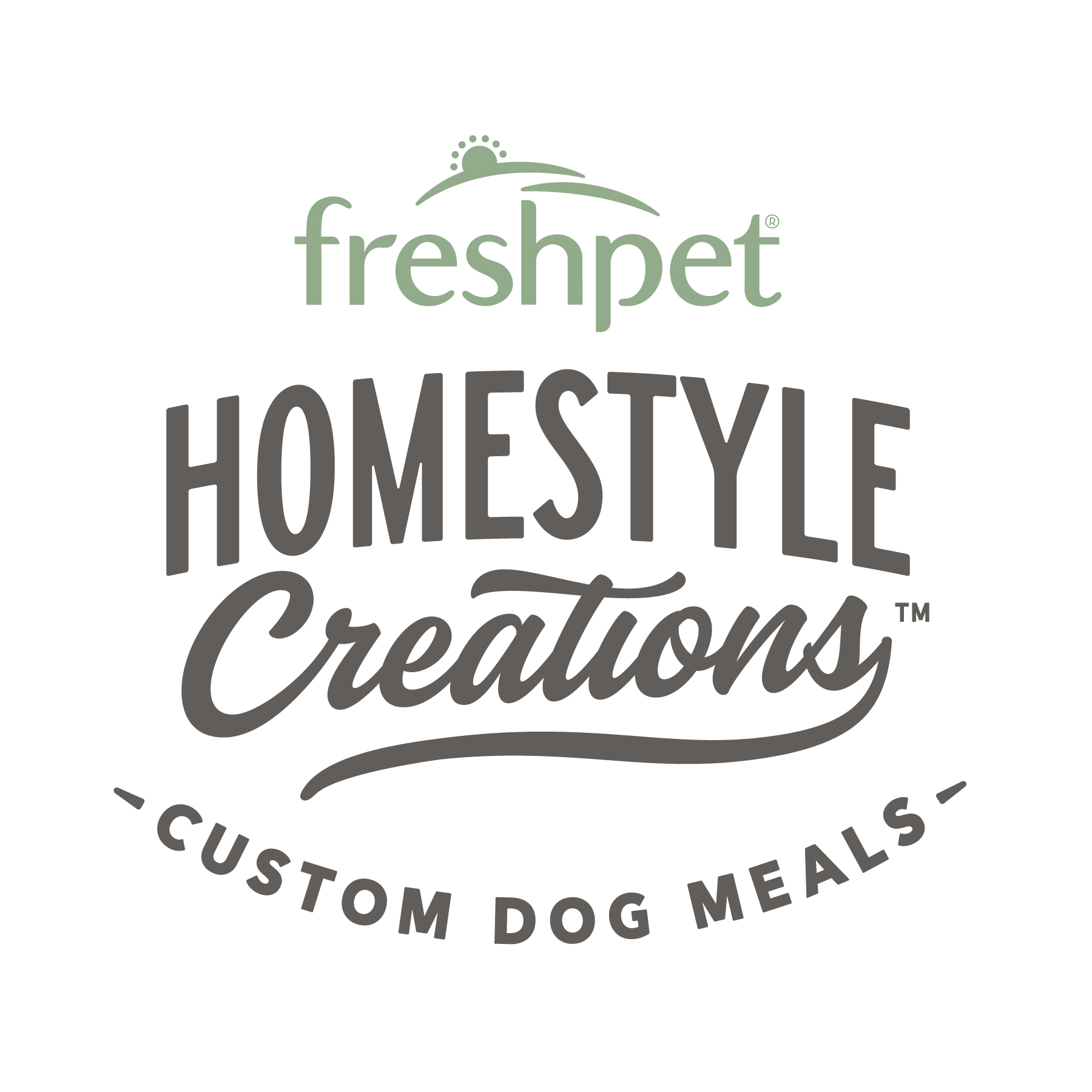 Freshpet® Homestyle Creations™ Custom Dog Food Meals.