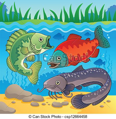 Freshwater fish Illustrations and Clip Art. 3,160 Freshwater fish.