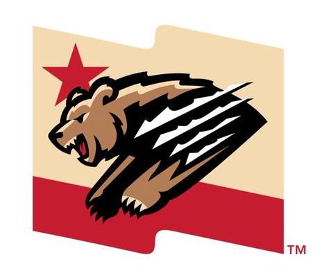 Fresno Grizzlies Alternate Logo.