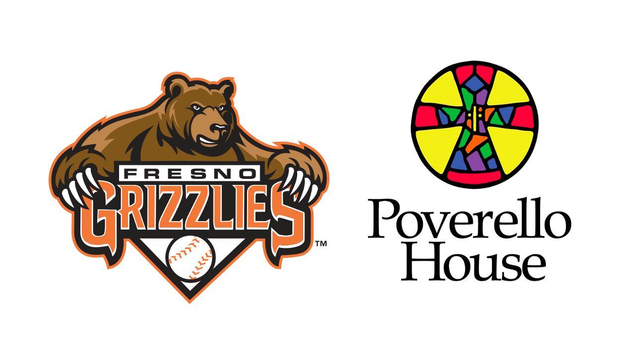 Fresno Grizzlies partner with Poverello House to donate.