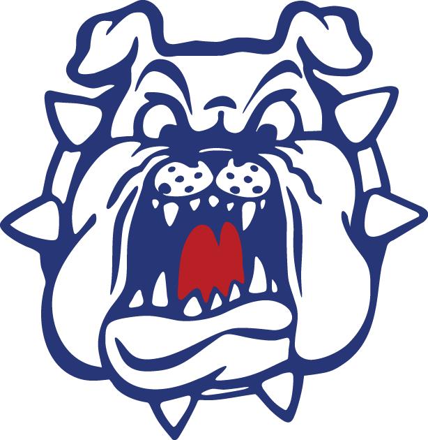 Fresno state bulldog Logos.