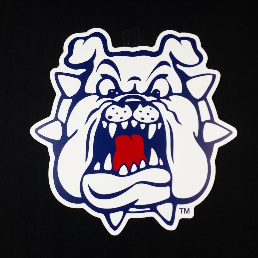 Fresno State Bulldog Head Wall Art.