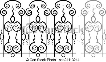 EPS Vector of Vector Fretwork.