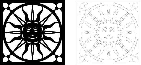 Fretwork Panel Clip Art at Clker.com.