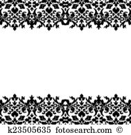 Fretwork Clip Art and Stock Illustrations. 95 fretwork EPS.
