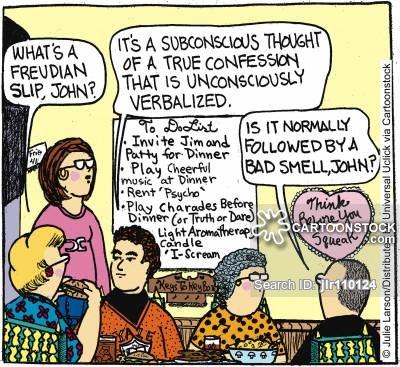 Subconscious Cartoons and Comics.