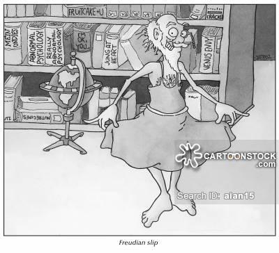 Freudian Slip Cartoons and Comics.