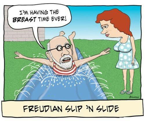 Freudian Slip.