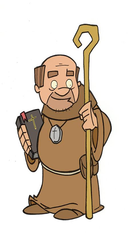 Friar tuck clipart.