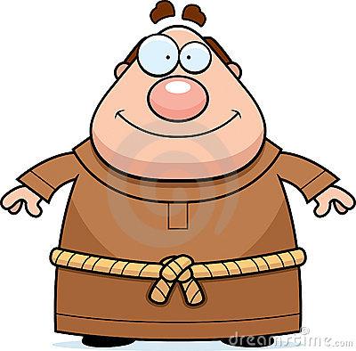 Friar Stock Illustrations.