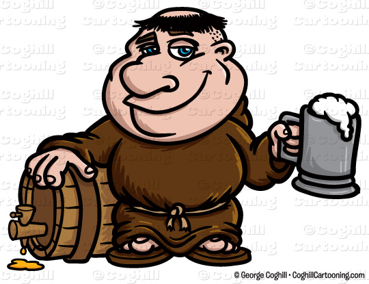 Friar And Priest Clipart.