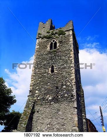 Stock Photo of Ruins Of Franciscan Friary, Dundalk, Ireland.