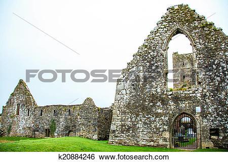 Stock Images of KILCREA, IRELAND.