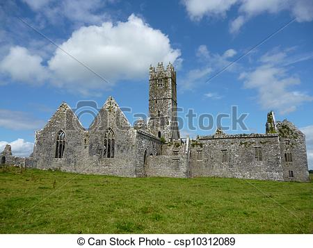 Pictures of Ross Errilly Friary located in Headford, Co. Galway.