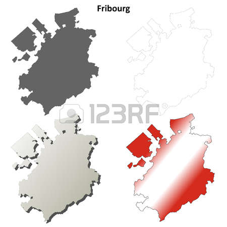Fribourg Border Stock Vector Illustration And Royalty Free.