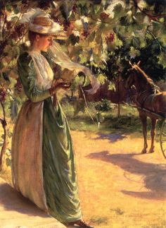 Charles Courtney Curran (American, 1861.