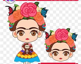 Frida kahlo svg.