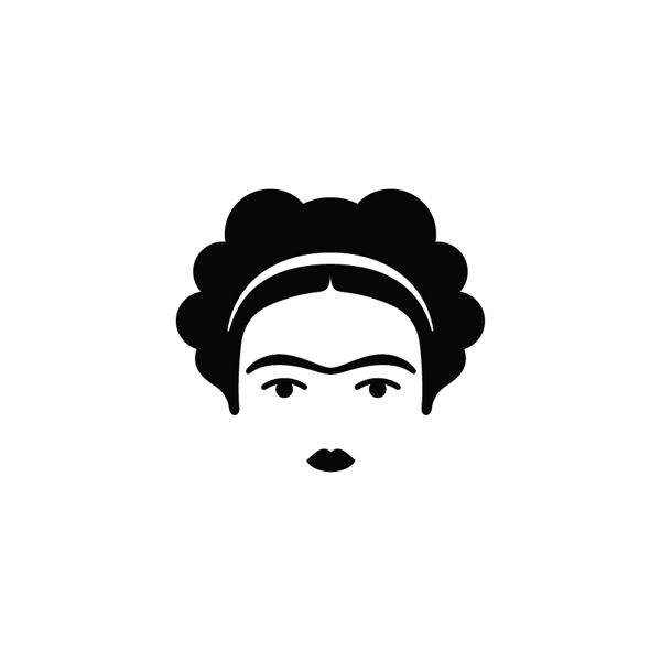 Frida Kahlo by CHULO Boutique Gráfica..